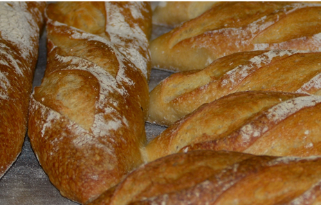 stone baked baguettes